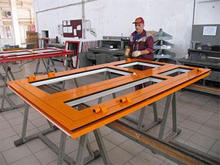 Алюминиевые окна изготовление
